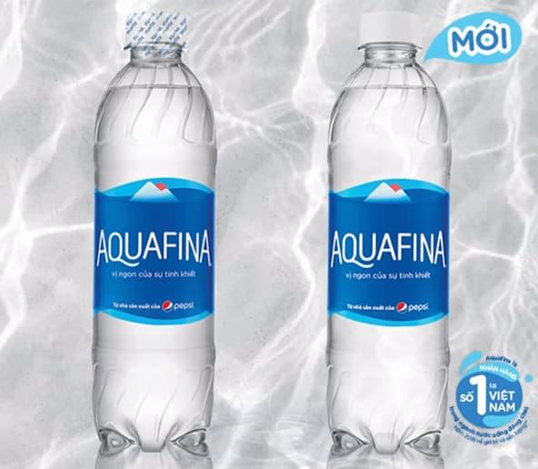 nước aquafina không màng co