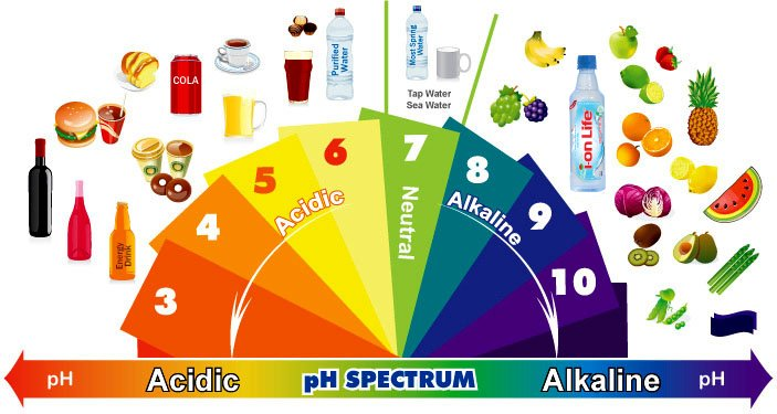 Độ pH nước ion Life